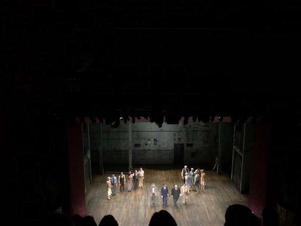 Shubert Theatre, secção: Balcony C, fila: E, lugar: 111