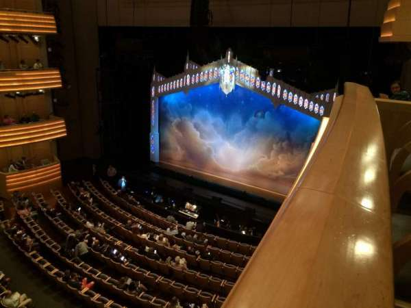 Overture Hall, secção: Mezzanine, fila: Box C, lugar: 4