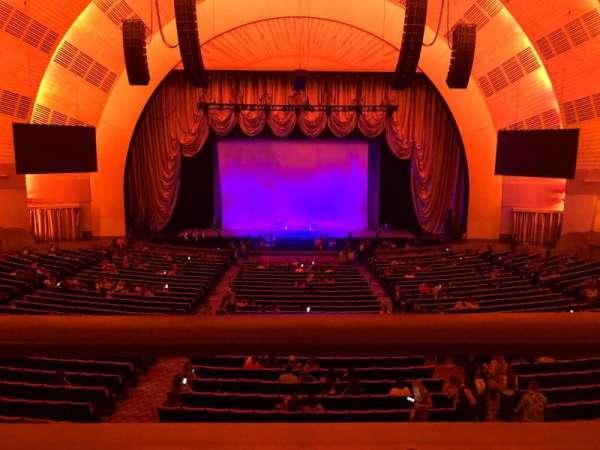 Radio City Music Hall, secção: 1st Mezzanine 4, fila: A, lugar: 407