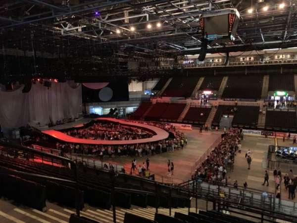 FlyDSA Arena, secção: 205, fila: p, lugar: 4