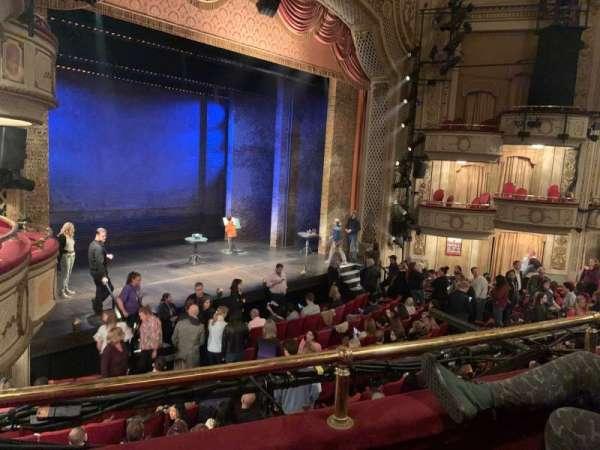 Cort Theatre, secção: Mezzanine L, fila: B, lugar: 21