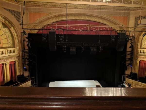 Ethel Barrymore Theatre, secção: Rear mezzanine c, fila: A, lugar: 102