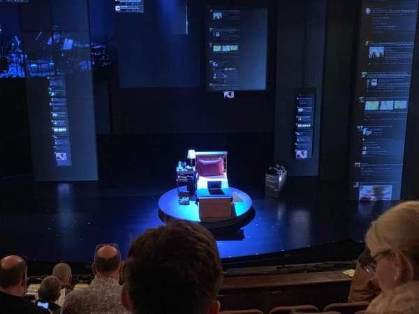 Music Box Theatre, secção: Mezzanine C, fila: H, lugar: 106