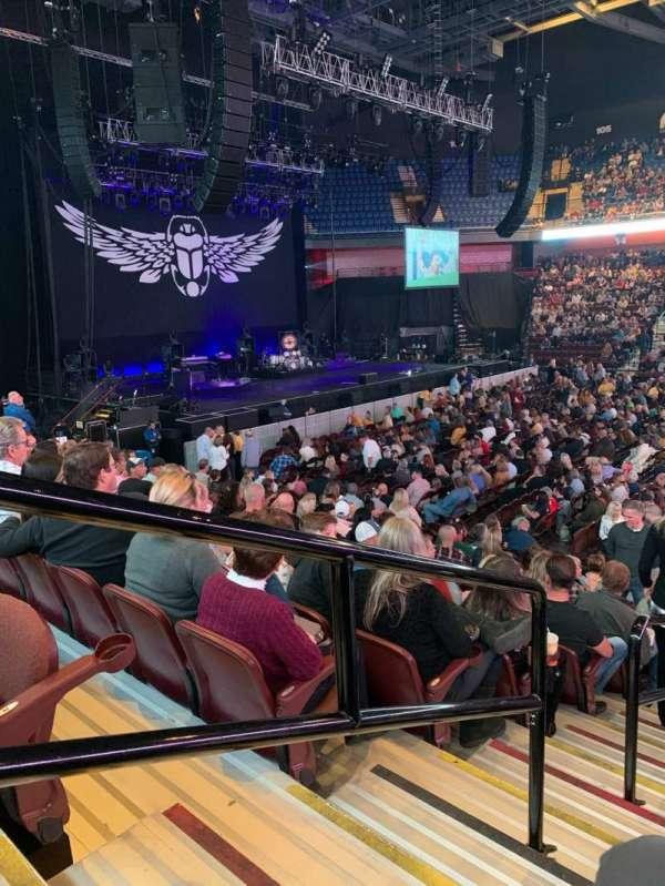 Mohegan Sun Arena, secção: 24, fila: N, lugar: 20