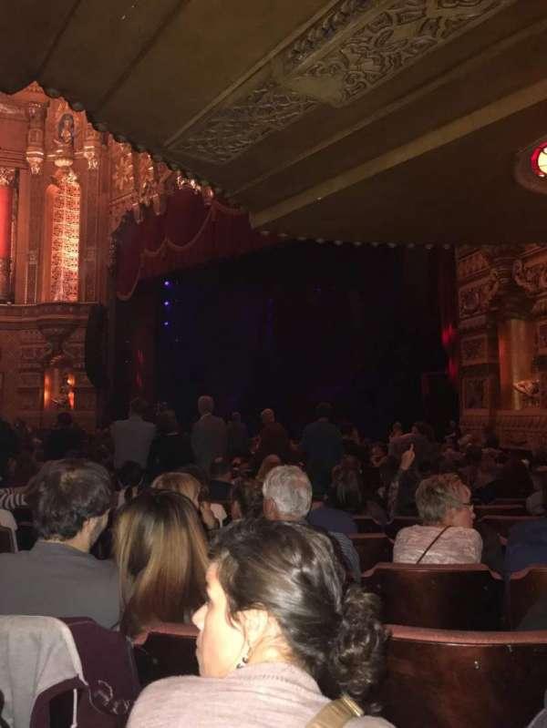 Fox Theatre (Detroit), secção: F6, fila: Z, lugar: 611