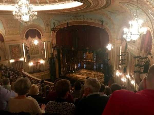 Forrest Theatre, secção: Rear Mezzanine E, fila: N, lugar: 5