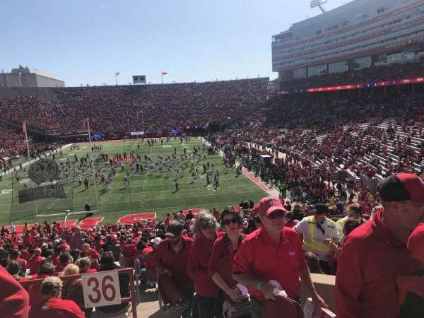 Memorial Stadium (Lincoln), secção: 36-A, fila: 48, lugar: 3