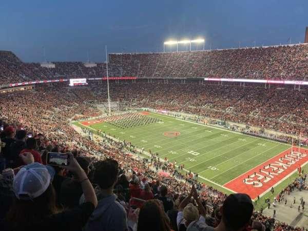 Ohio Stadium, secção: 29C, fila: 18, lugar: 25