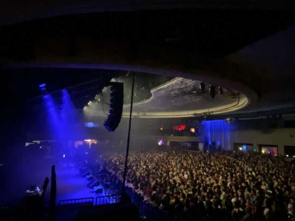 Hollywood Palladium, secção: PLBAL, fila: AA, lugar: 10