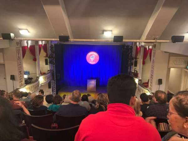 Vaudeville Theatre, secção: Dress Circle, fila: J, lugar: 12