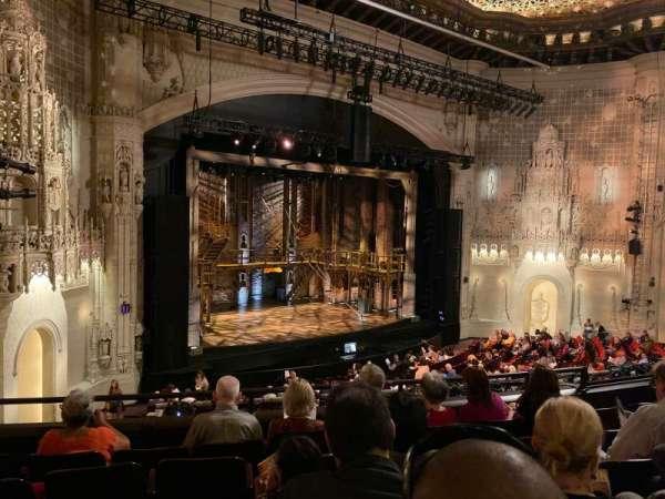 Orpheum Theatre (San Francisco), secção: Mezzanine L, fila: F, lugar: 21