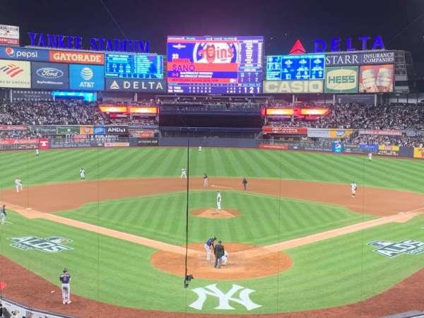 Yankee Stadium, secção: 220B, fila: 3, lugar: 9