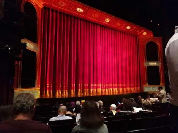 Marquis Theatre, secção: Orchestra L, fila: K, lugar: 11