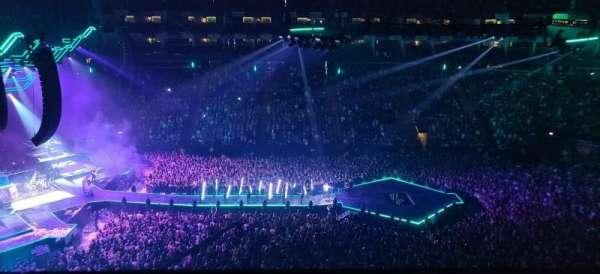 The O2 Arena, secção: 403, fila: A, lugar: 510