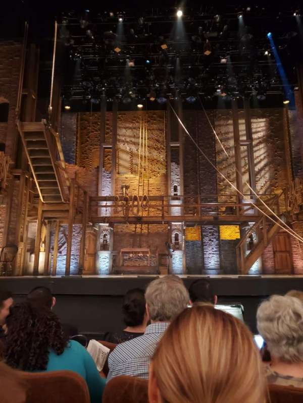 Forrest Theatre, secção: Orchestra C, fila: D, lugar: 5