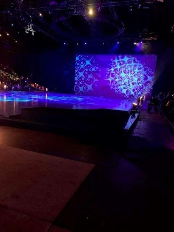 Royal Farms Arena, secção: 128, fila: A, lugar: 1