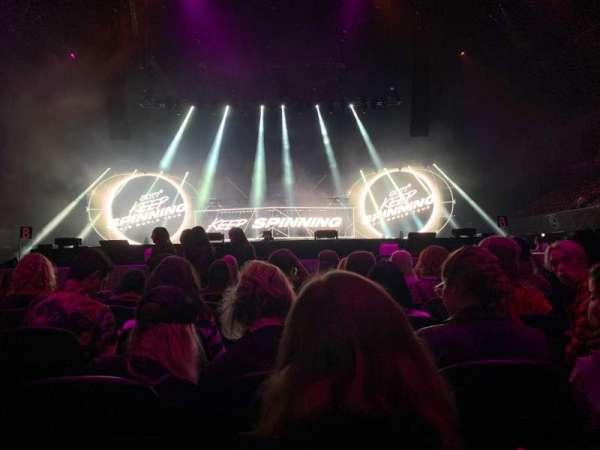 Ziggo Dome, secção: E, fila: 34, lugar: 38