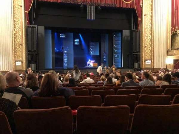 Orpheum Theatre (Memphis), secção: Orchestra, fila: U, lugar: 208