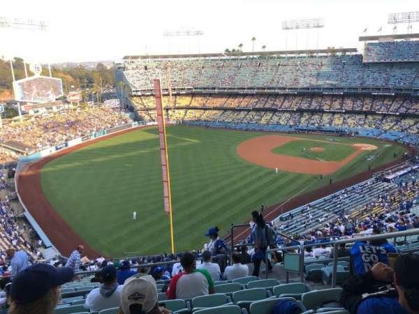Dodger Stadium, secção: 53RS, fila: HH, lugar: 4