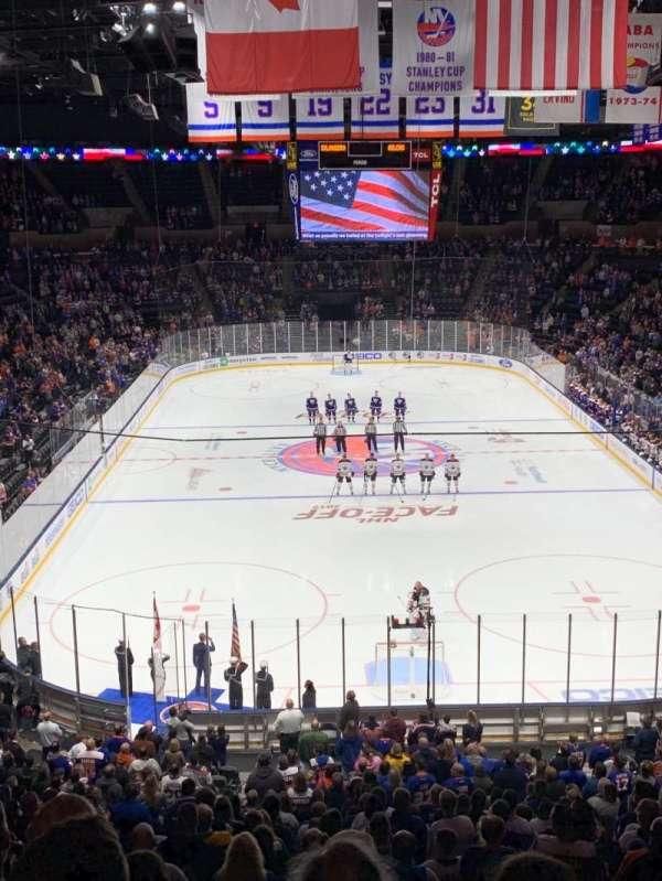 Nassau Veterans Memorial Coliseum, secção: 233, fila: 6, lugar: 14