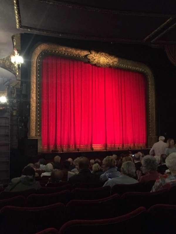Palace Theatre (Manchester), secção: Stalls, fila: L, lugar: 42