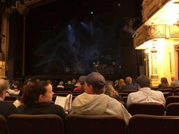 Hippodrome Theatre, secção: Right Orchestra, fila: N, lugar: 16 and 18