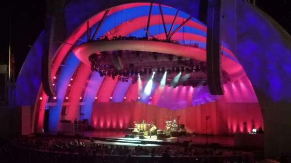 Hollywood Bowl, secção: Terrace Box 1320, lugar: 3