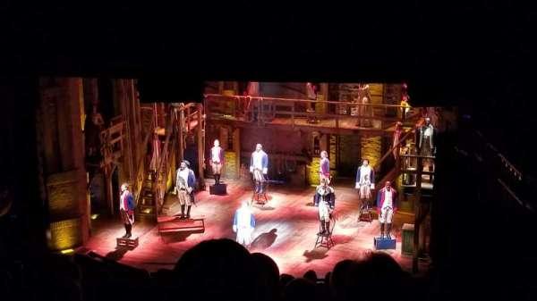 CIBC Theatre, secção: Mezzanine R, fila: P, lugar: 6