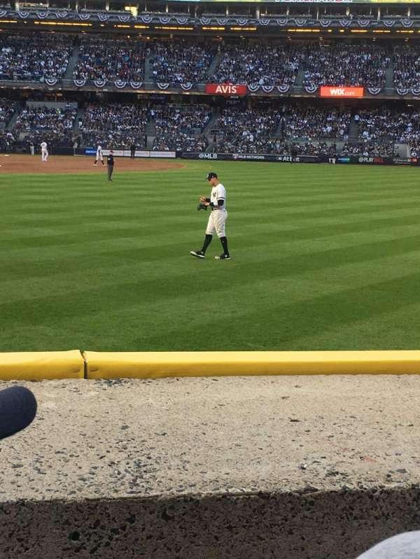Yankee Stadium, secção: 104, fila: 2, lugar: 15