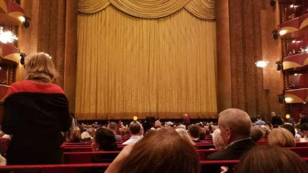 Metropolitan Opera House - Lincoln Center, secção: Orch, fila: X, lugar: 102