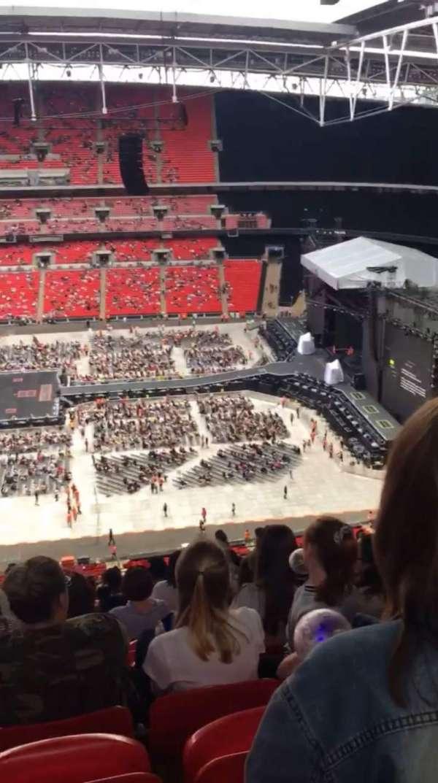 Wembley Stadium, secção: 551, fila: 33, lugar: 355