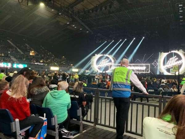 SSE Arena, Wembley, secção: C1, fila: 5, lugar: 3