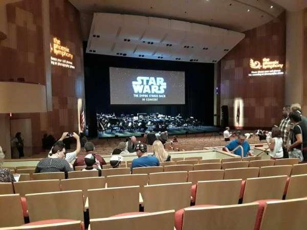 Phoenix Symphony Hall, secção: C, fila: 24, lugar: 9