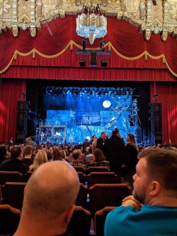 Fox Theatre (Detroit), secção: F3, fila: T, lugar: 314