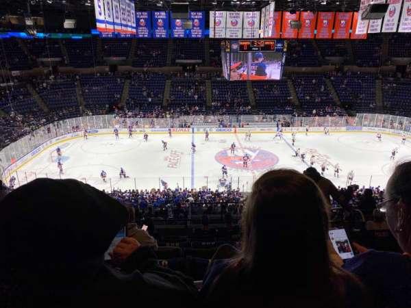 Nassau Veterans Memorial Coliseum, secção: 204, fila: 11, lugar: 4