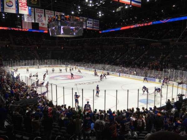 Nassau Veterans Memorial Coliseum, secção: 112, fila: 7, lugar: 13