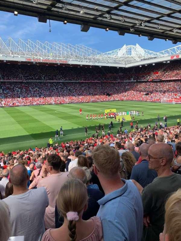 Old Trafford, secção: STH122, fila: 26, lugar: 197