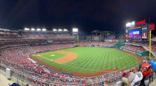 Nationals Park, secção: 224, fila: D, lugar: 11