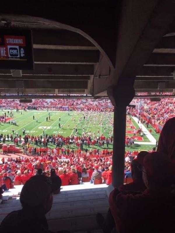 Memorial Stadium (Lincoln), secção: 2, fila: 46, lugar: 25