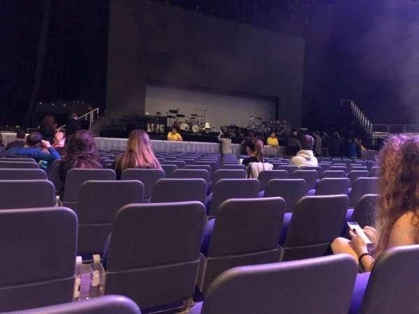 The O2 Arena, secção: Floor A1, fila: P, lugar: 2