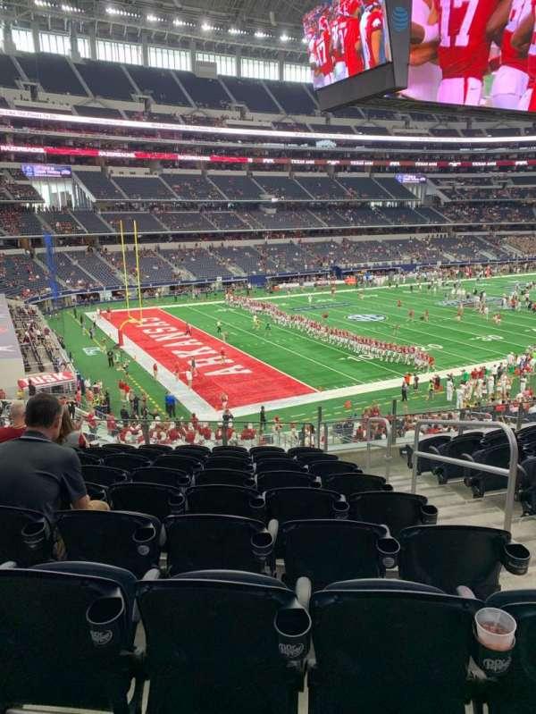 AT&T Stadium, secção: 242, fila: 9, lugar: 3
