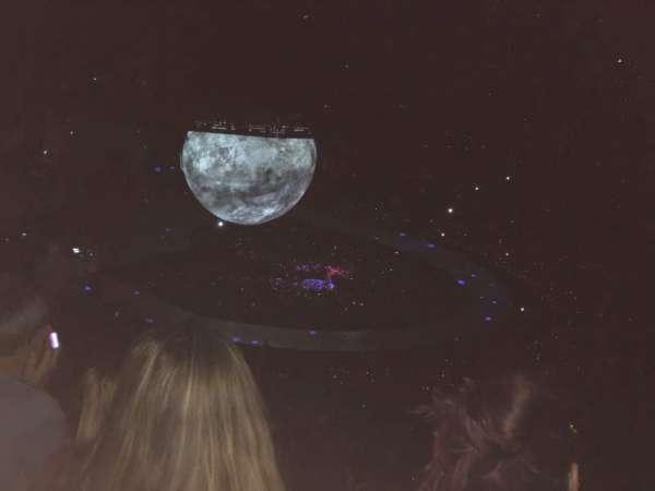 The O2 Arena, secção: 405, fila: S, lugar: 555