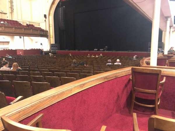 Modell Performing Arts Center, secção: Box H - Right, fila: A, lugar: 2