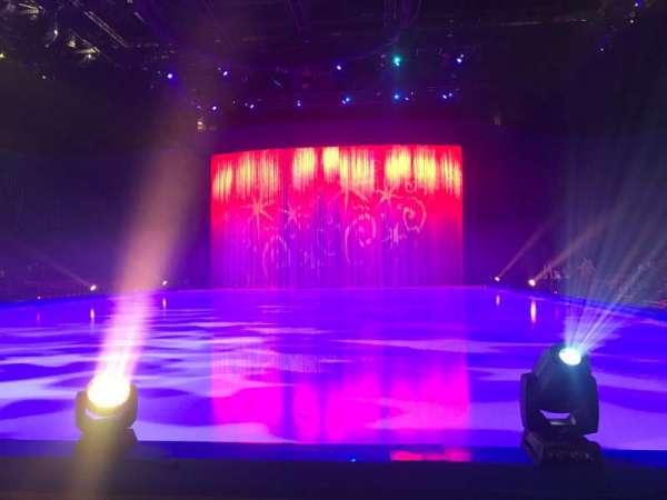 Manchester Arena, secção: E, fila: B, lugar: 8
