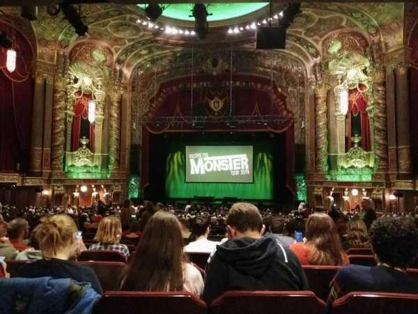Kings Theatre (Brooklyn), secção: 6, fila: II, lugar: 108