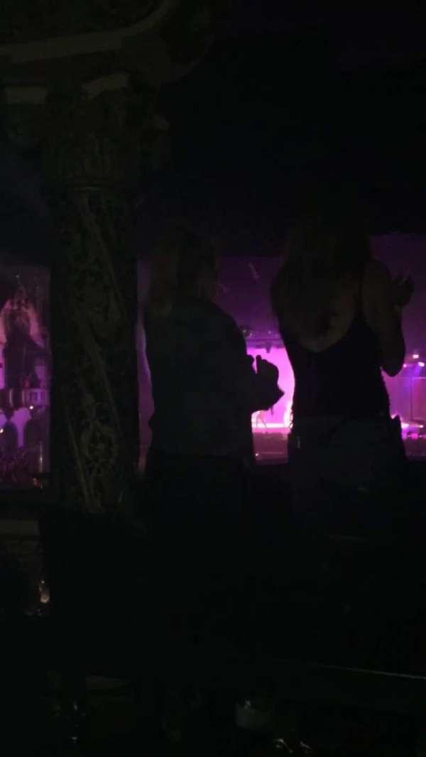 Aragon Ballroom, secção: ADA