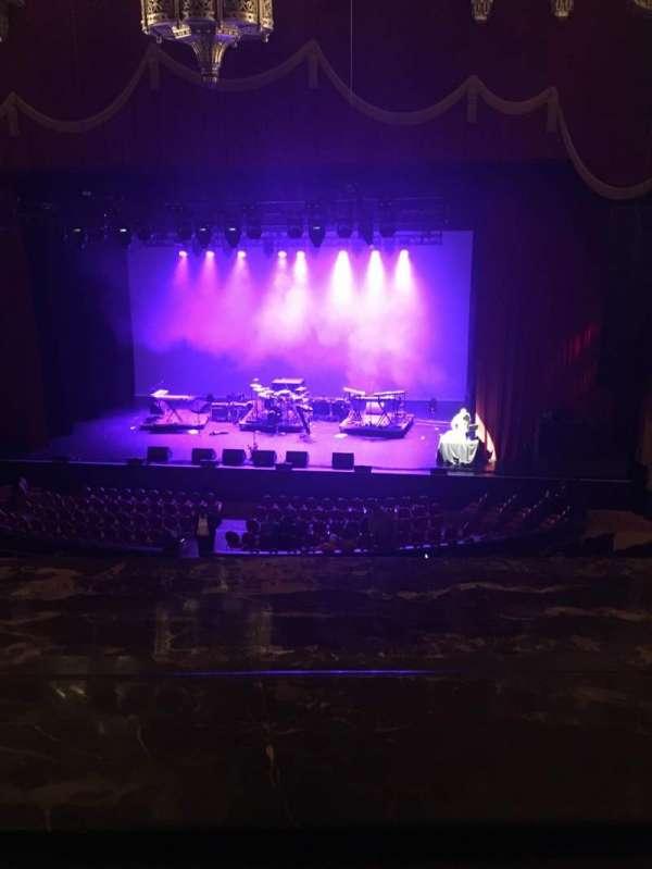 Fox Theatre (Detroit), secção: Mezzanine, fila: AA, lugar: 502