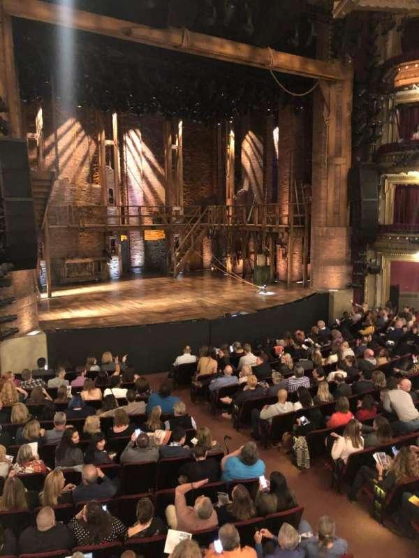 CIBC Theatre, secção: Dress Circle L, fila: A, lugar: 7