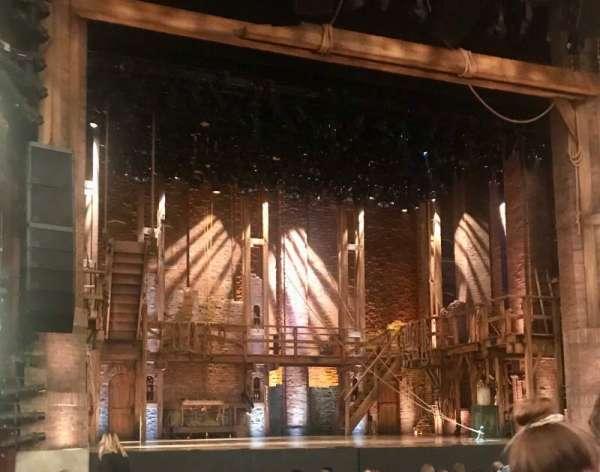 CIBC Theatre, secção: Orchestra L, fila: P, lugar: 3