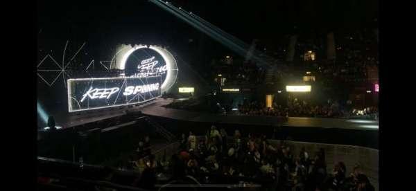 SSE Arena, Wembley, secção: S8, fila: E